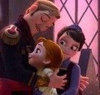 Quebra cabeça da família Frozen