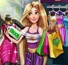 Rapunzel fazer compras