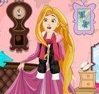 Rapunzel limpeza da casa
