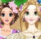 Rapunzel maquiagem e estilos