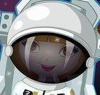 Roupas da menina astronauta