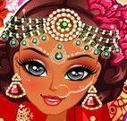 Roupas da noiva indiana