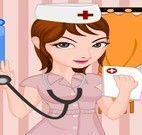 Vestir enfermeira
