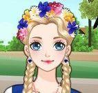 Vestir menina camponesa