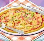 Achar ingredientes da pizza