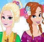Anna e Elsa redes sociais