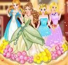 Bolo de morango das princesas