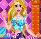 Decorar nova bolsa da Rapunzel