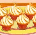 Fazer cupcakes de laranja