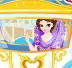 Lavar carruagem da princesa