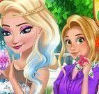 Princesas roupas e decoração da páscoa
