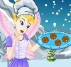 Sininho fazer cookies