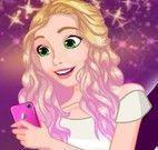 Vestir Rapunzel para encontro