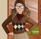 Vestir roupas da secretária