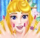 Aurora pintar unhas