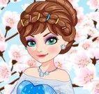 Elsa e Anna roupas do japão