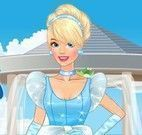 Preparar Cinderela noiva