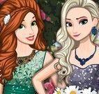 Princesas da Disney roupas de glamour