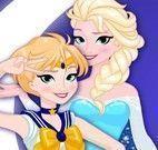 Princesas roupas da apresentação