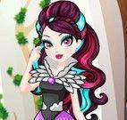 Raven Queen roupas da escola