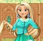 Roupas de trabalho da Rapunzel