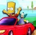 Simpson corrida na praia
