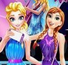 Elsa e Anna compras no shopping