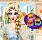 Elsa vender hamburguer