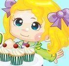Fazer cupcakes da bebê