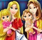 Rapunzel e Bela compras