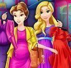 Rapunzel e Bela grávidas compras