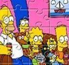 Simpsons quebra cabeça