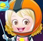 Vestir bebê Hazel astronauta