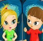 Vestir bebês gêmeos