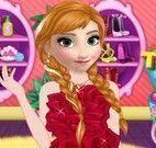 Anna Frozen maquiar e vestir