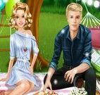 Barbie e Ken piquenique
