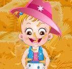 Bebê Hazel festival na fazenda