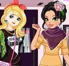 Blonde e Brunette moda concurso
