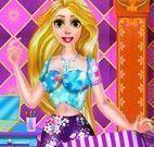 Decorar bolsa da Rapunzel