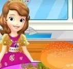 Decorar hambúrguer da Princesa Sofia