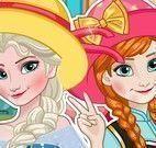 Elsa e Anna roupas da foto