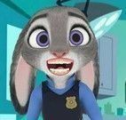 Judy cuidar dos dentes
