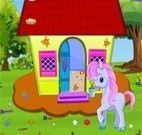 My Little Pony limpar casinha