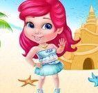 Princesa decoração da praia