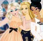 Princesas e namorados selfie