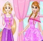 Rapunzel e Anna roupas