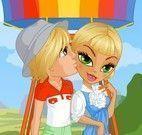 Vestir casal no balão