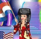 Vestir meninas da Russia e Usa