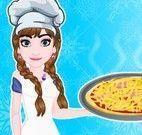 Anna fazer pizza de lombinho