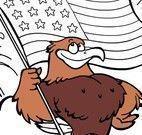 Colorir desenho dos Estados Unidos